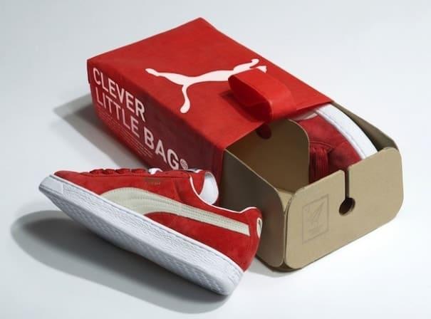 L' Emballage À Chaussures Boite Écologique Se Au La Vert De Puma Met j5L4AR