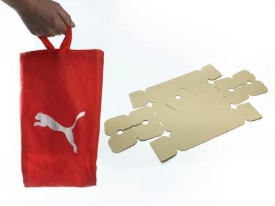 De Au Boite Met Chaussures La Se Puma Vert À Écologique Emballage L' qAHwW4t
