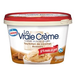 Nestlé La vraie crème - Emballage recyclable et réutilisable