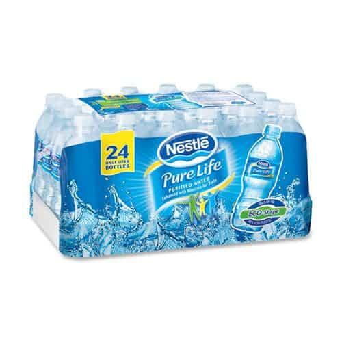 Nestlé et la réduction des matériaux d'emballages