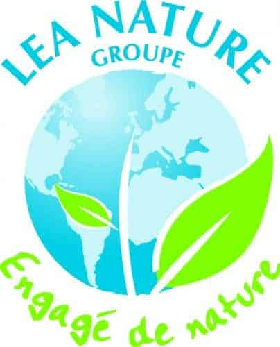 La boucle Moebius sur 100% des produits cosmétiques Bio du groupe Lea Nature.