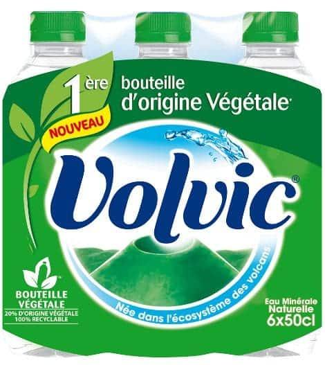 La « bouteille végétale », pas si écolo que Volvic le prétend…