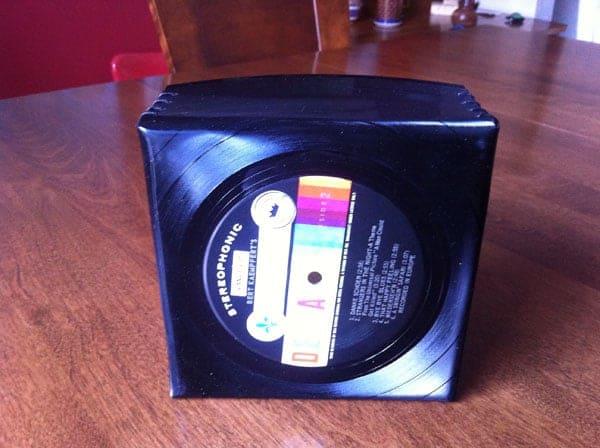 Un recyclage de disques vinyles intelligent !