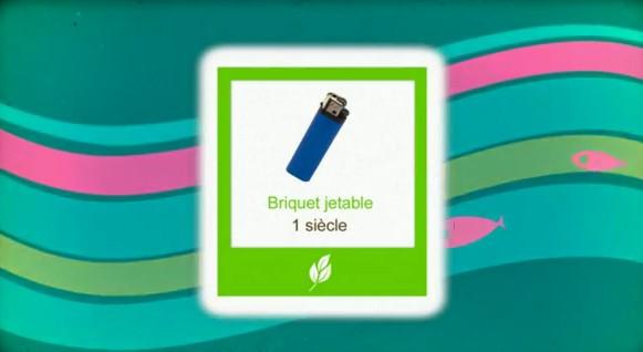 Durée de biodégradabilité des déchets.