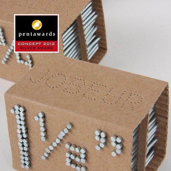 Un concept d'emballage original & écologique pour les clous !