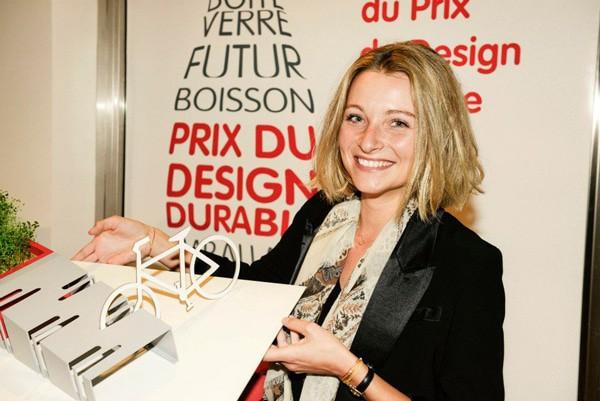 Marion Steinmetz est la lauréate du 3e prix du design durable