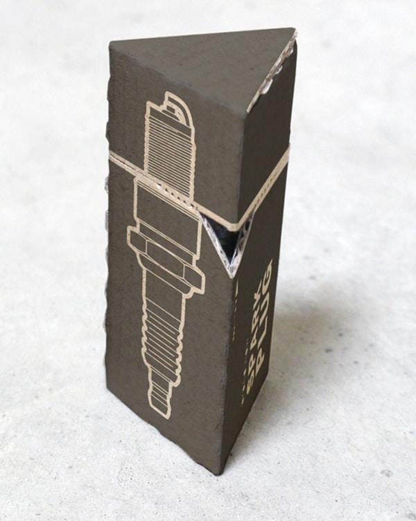 Emballage écologique pour pièces auto