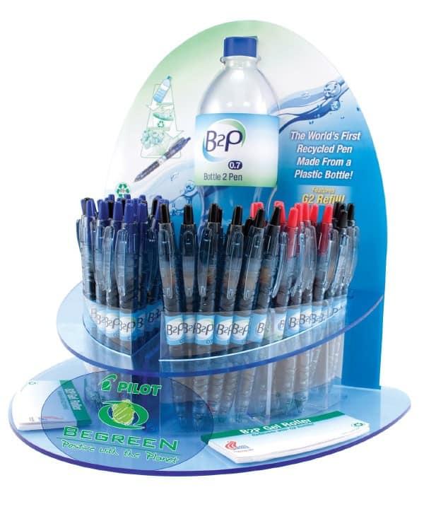 Recyclage : de la bouteille au stylo