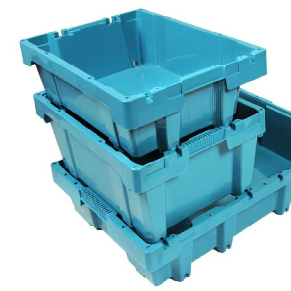 Des bacs r utilisables pour le poisson l 39 emballage for Modele bac a poisson