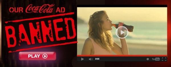 Une publicité dérangeante de Greenpeace retirée d'une chaîne australienne.