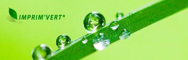Logo Imprim Vert L`emballage écologique