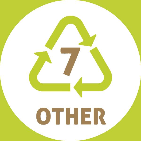 Le symbole du recyclage 7 plastique – OTHER ou O – Autres plastiques
