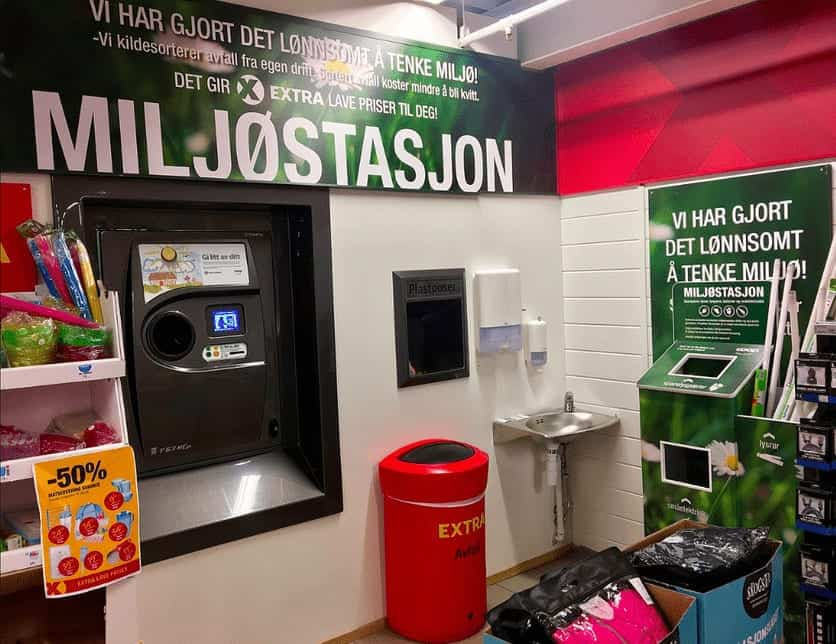 Recyclage des bouteilles en plastiques : l'exemple de la Norvège