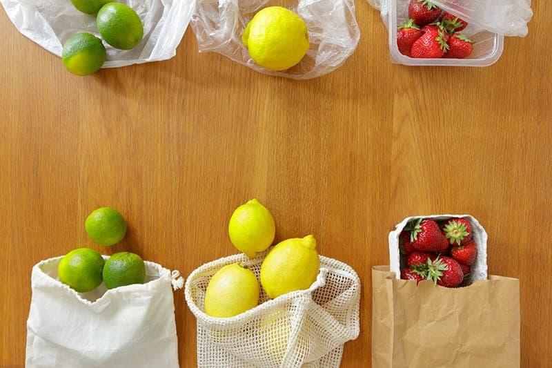 Emballage vert vs emballage plastique