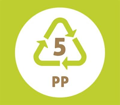 Symbole plastique n°5