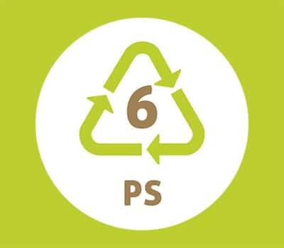 Symbole plastique n°6